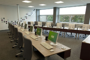 THM Bibliothek - Arbeiten an PCs