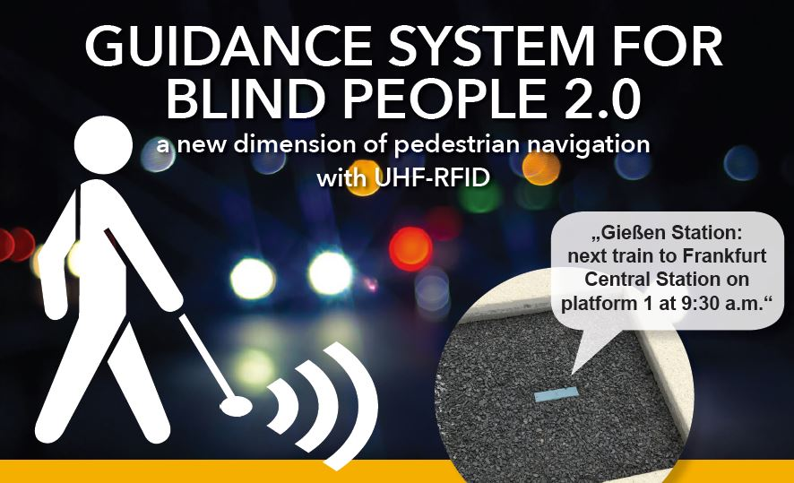 Guidance system for blind people 2.0
