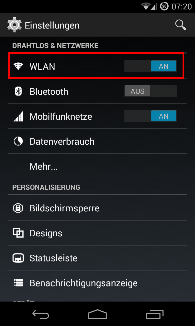 android wlan 1