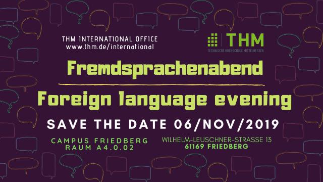 Fremdsprachenabend Friedberg