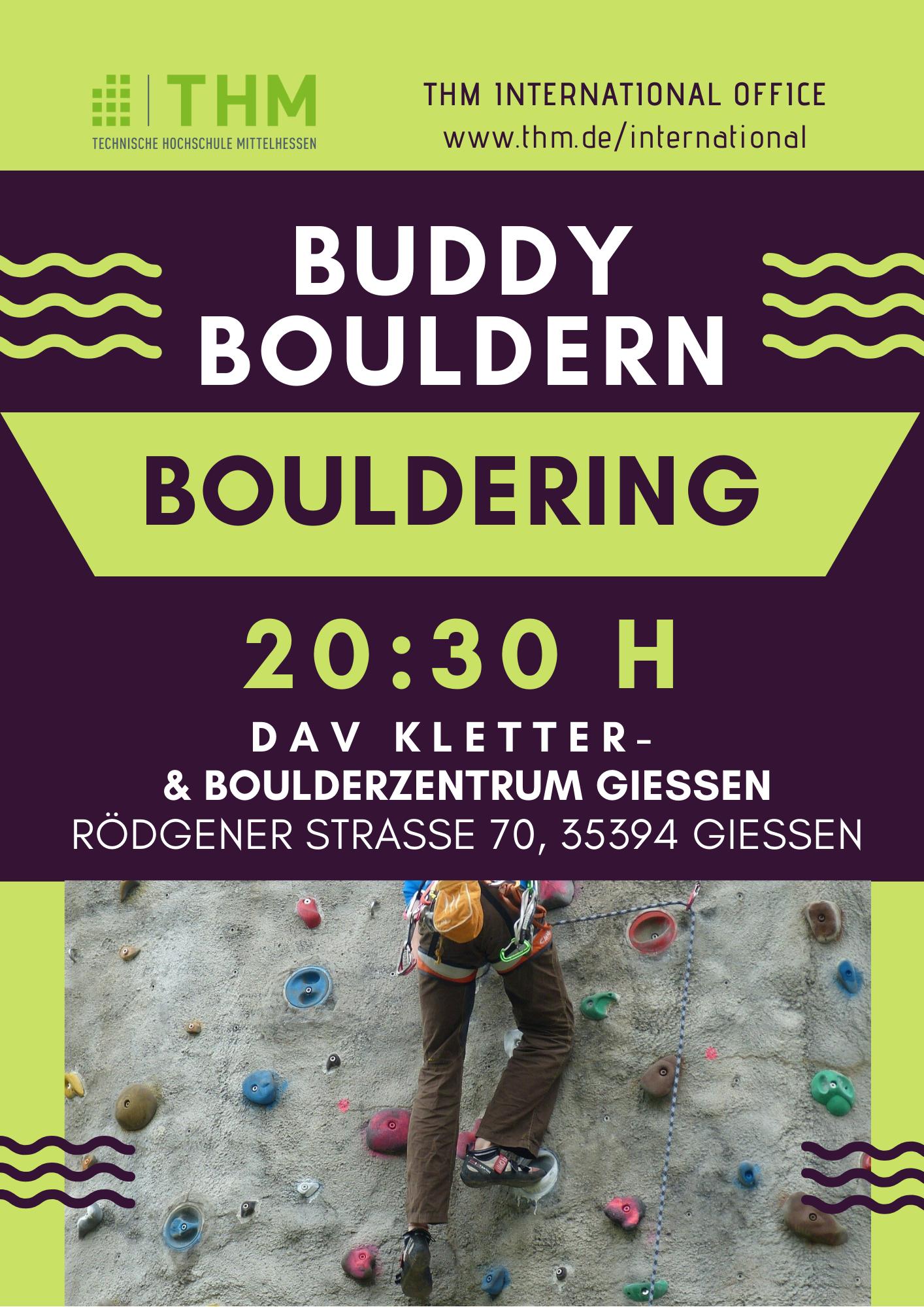buddy Bouldern