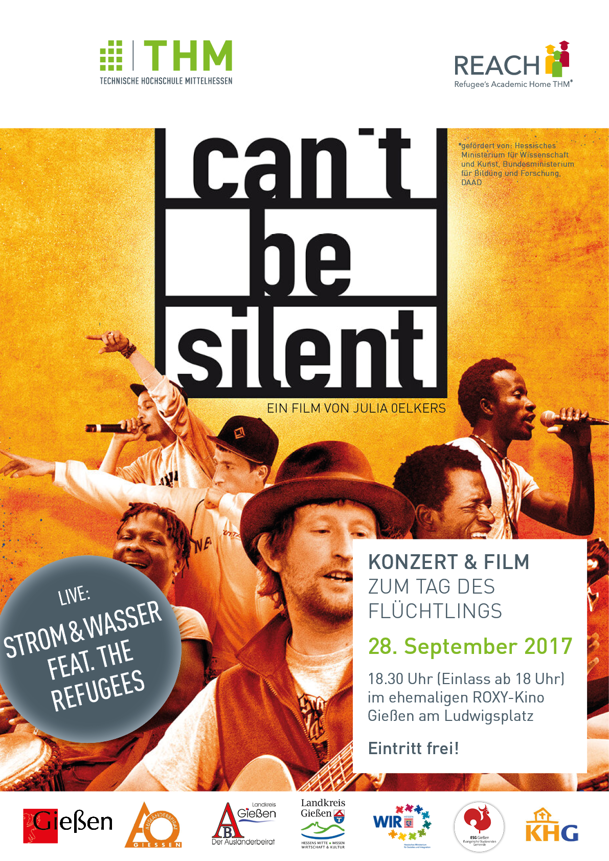 REACH Plakat A2 Cant be silent Web