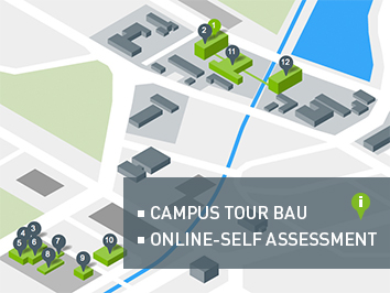 campus tour bau