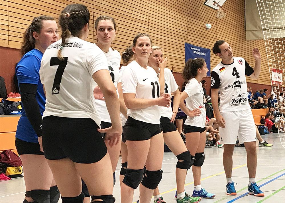 volleyball gießen